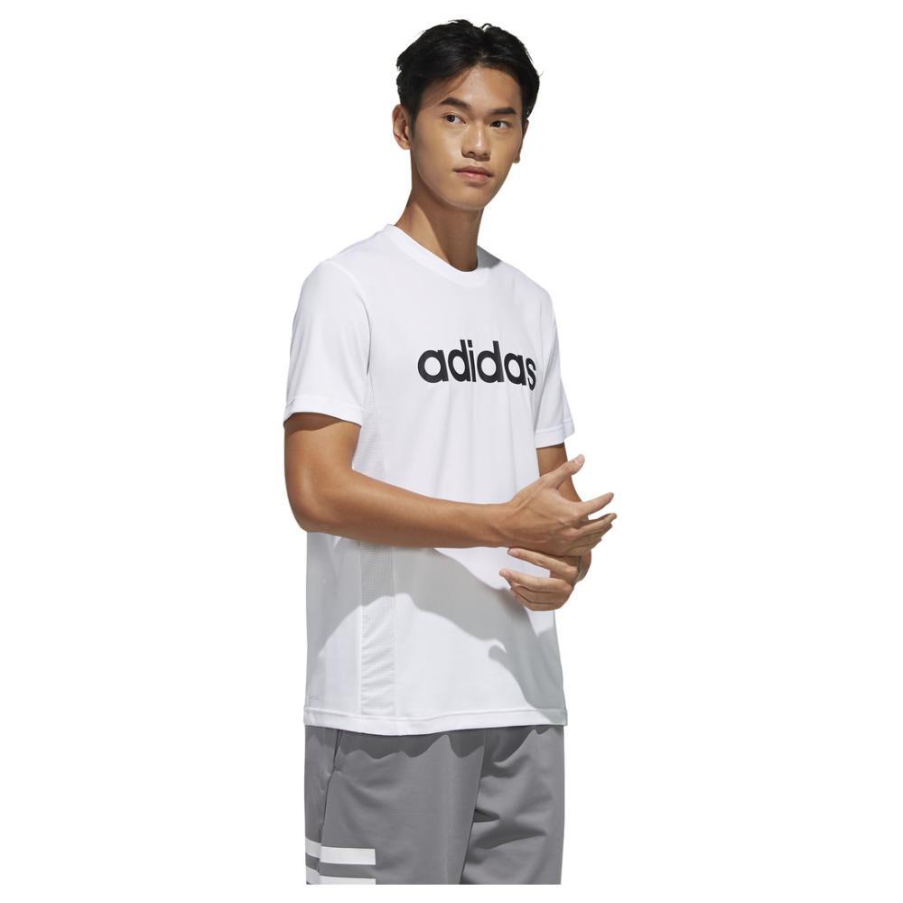 Polera Hombre Adidas Designed 2 Move Logo image number 2.0