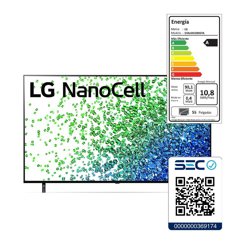 "Led LG 55NANO80SPA / 55 "" / Ultra HD 4k / Smart Tv image number 6.0"