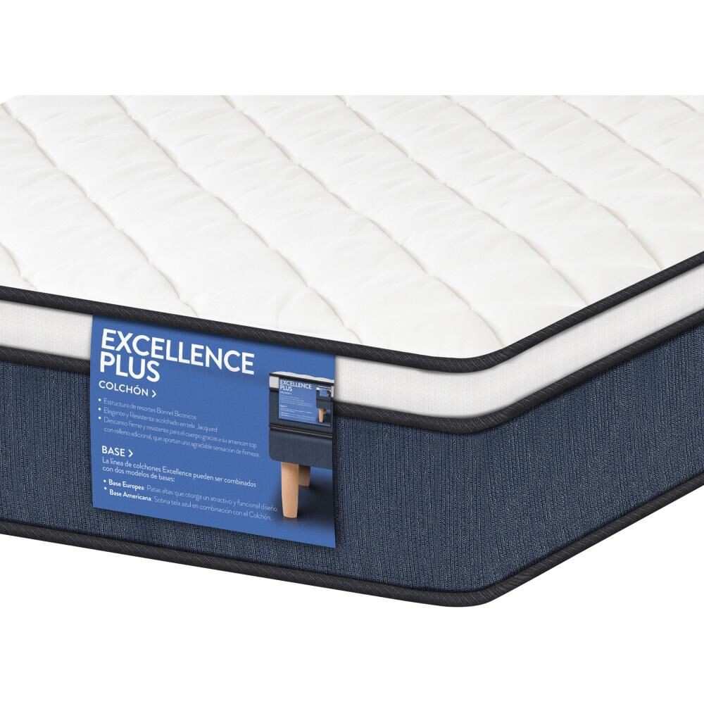 Colchon Cic Excellence Plus / 1 Plaza + Almohada image number 2.0