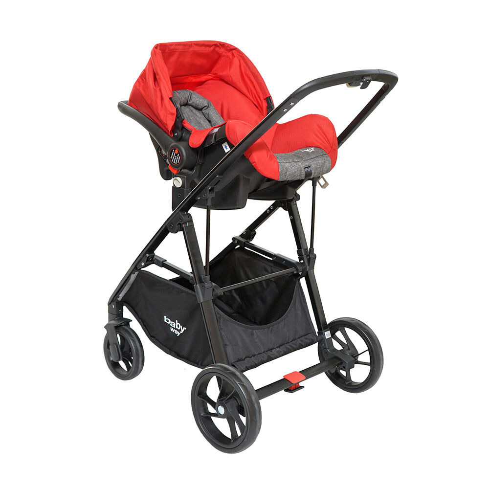 Coche Travel System Baby Way Bw-412R18 image number 1.0