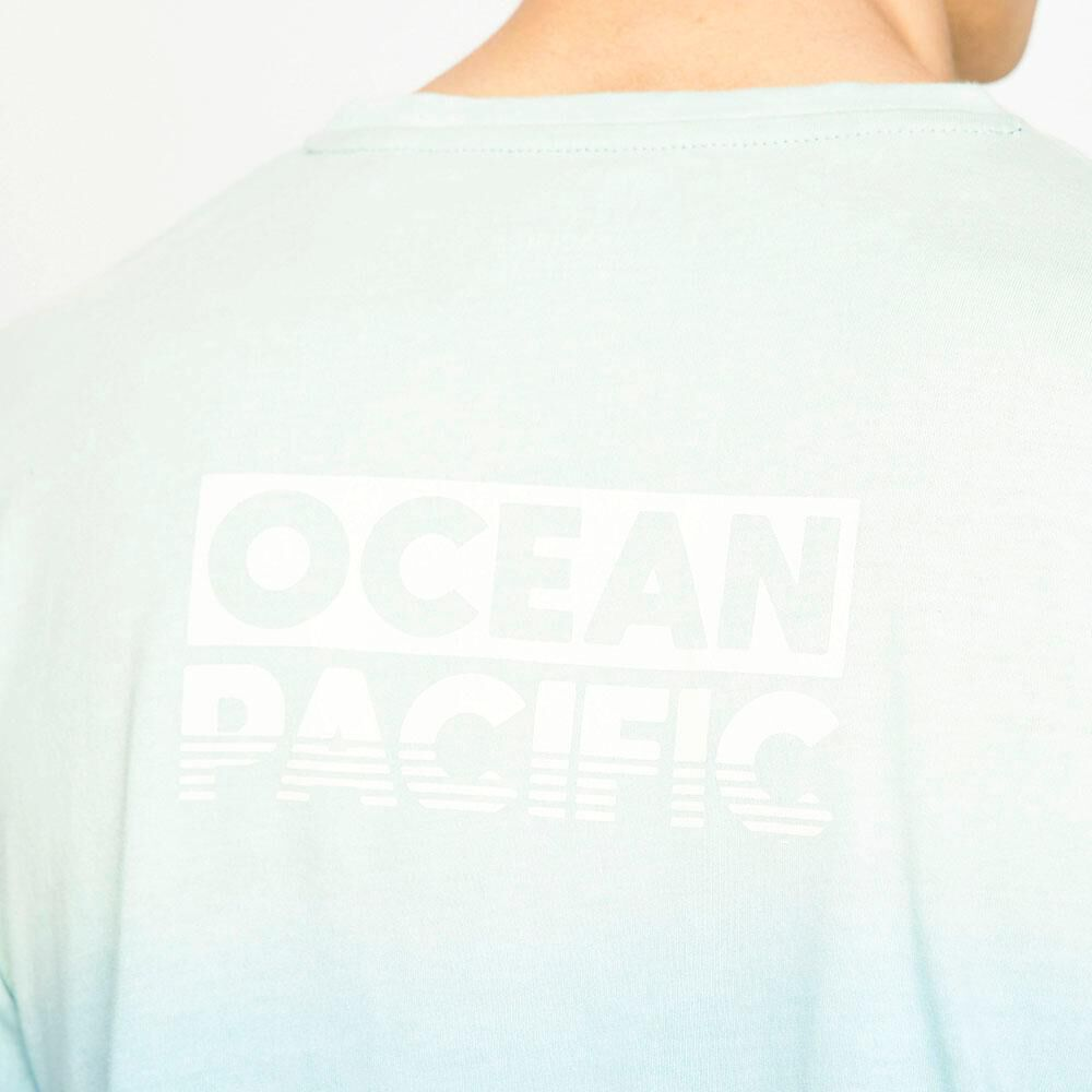 Polera Manga Corta Hombre Ocean Pacific image number 4.0