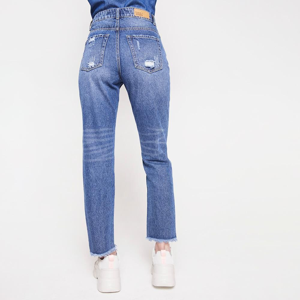 Jeans Mujer Tiro Alto Mom Freedom image number 2.0