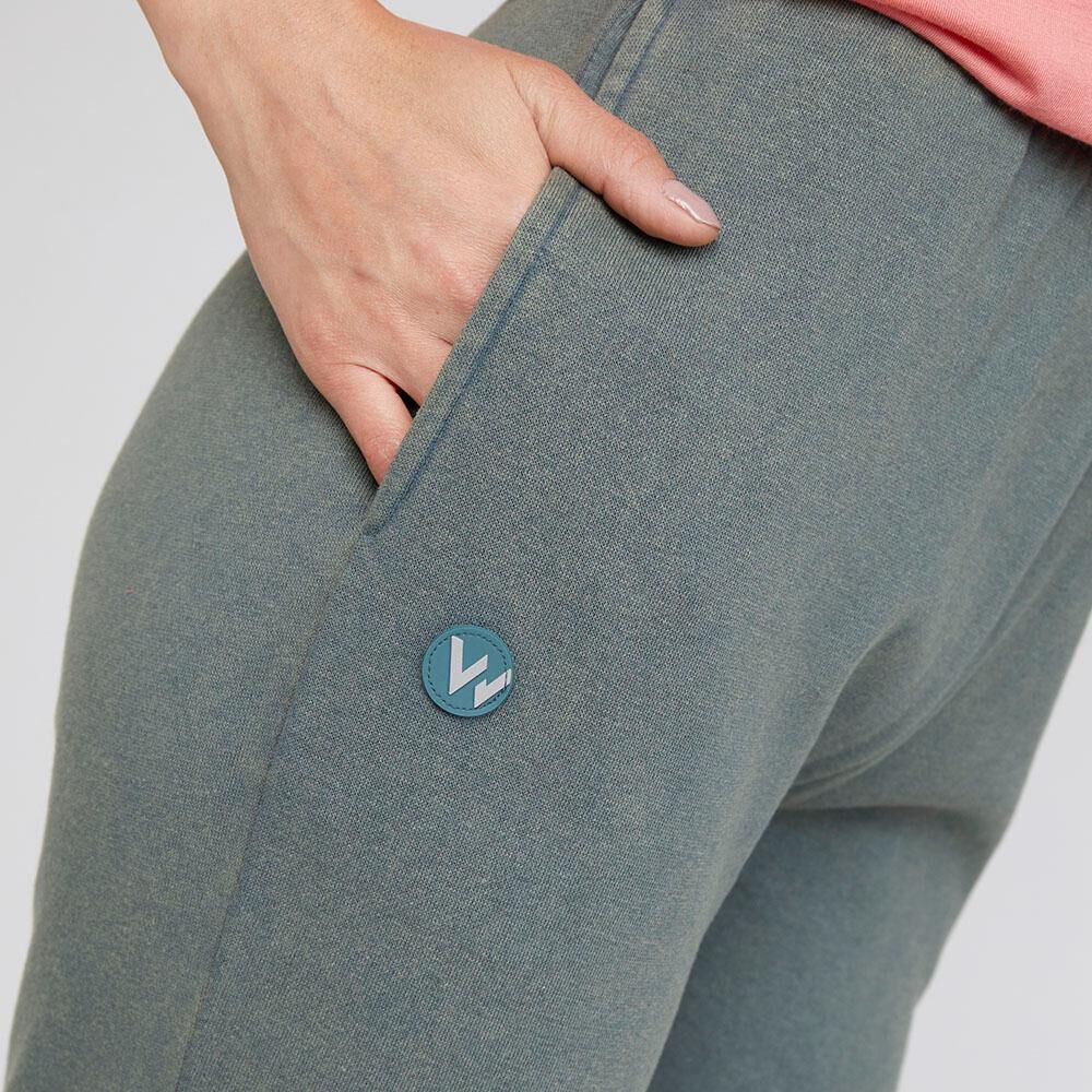 Pantalon De Buzo  Mujer Wetland image number 3.0