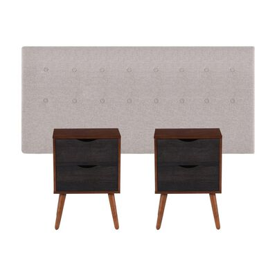 Set De Madera Cic Tigris   / King