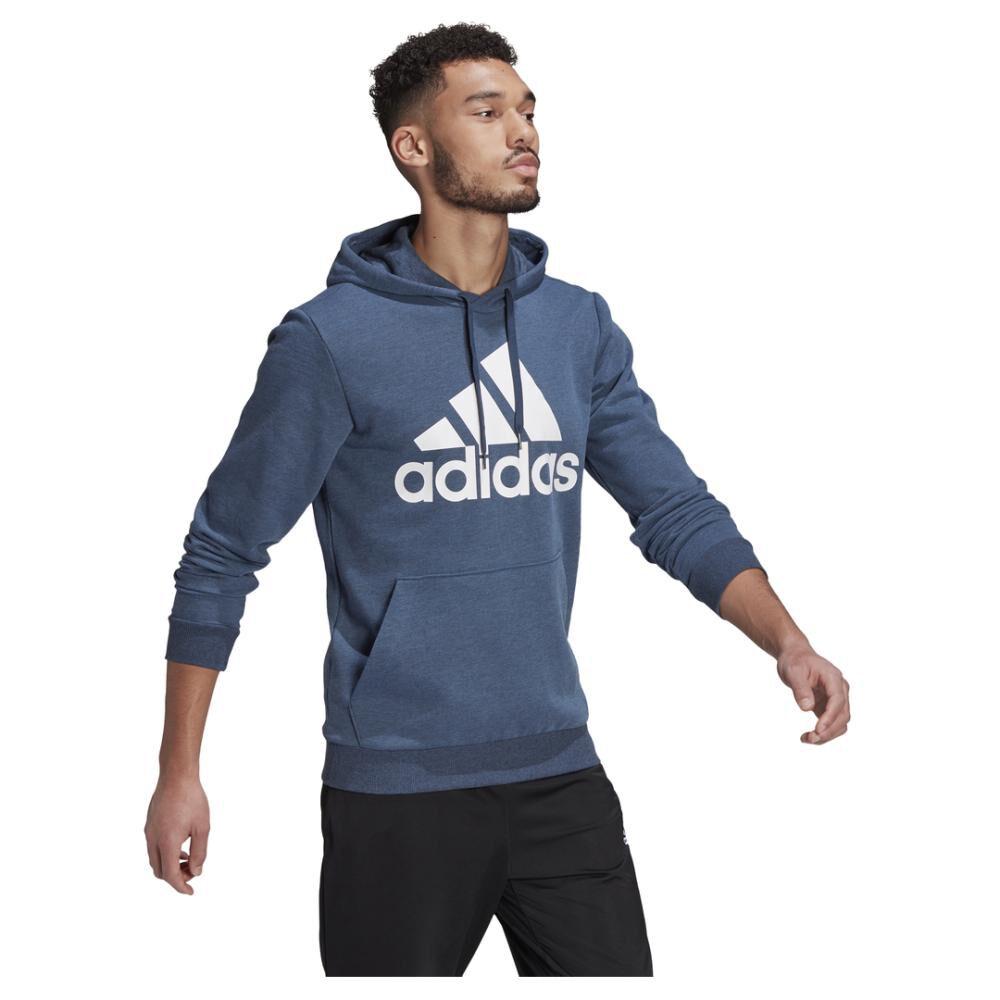 Polerón Hombre Adidas Essentials Big Logo image number 1.0