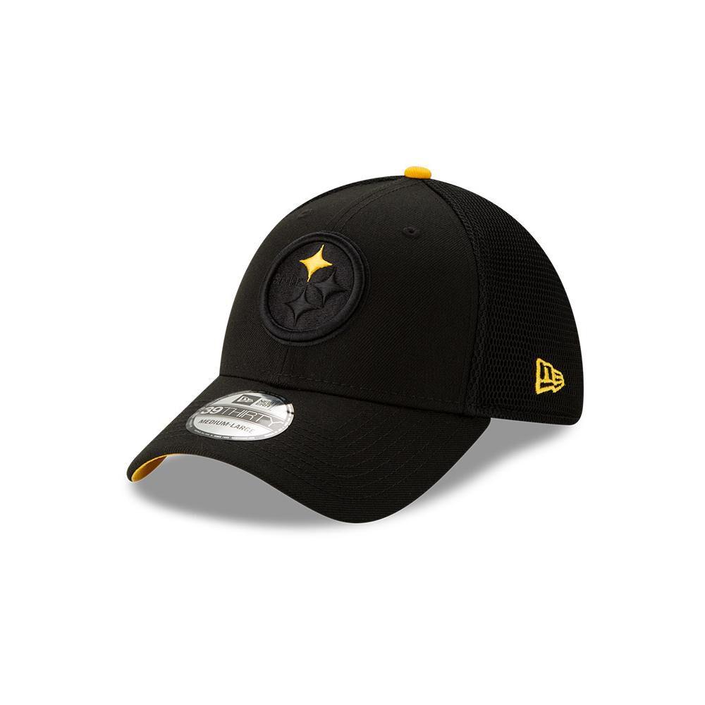 Jockey New Era 3930 Pittsburgh Steelers image number 0.0
