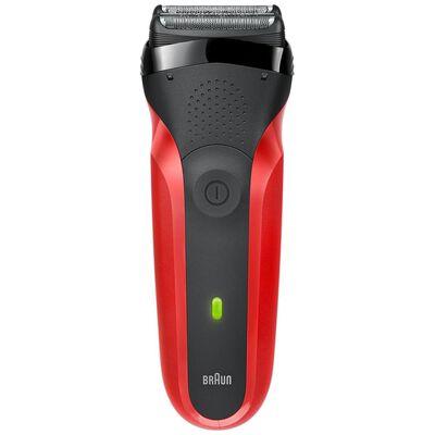 Maquina De Afeitar Braun Shaver 300 Blk/Red Box Euro