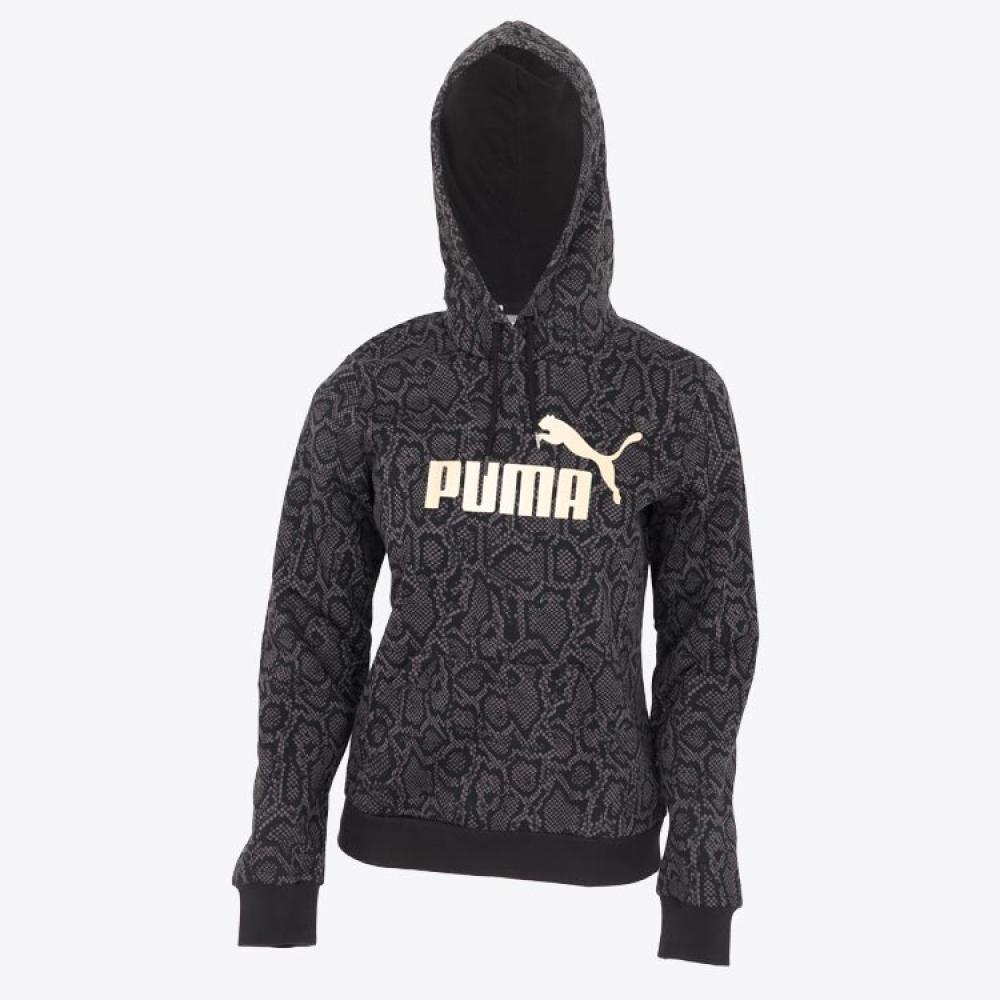 Polerón Deportivo Mujer Puma Ess+ Aop Hoodie Fl image number 0.0