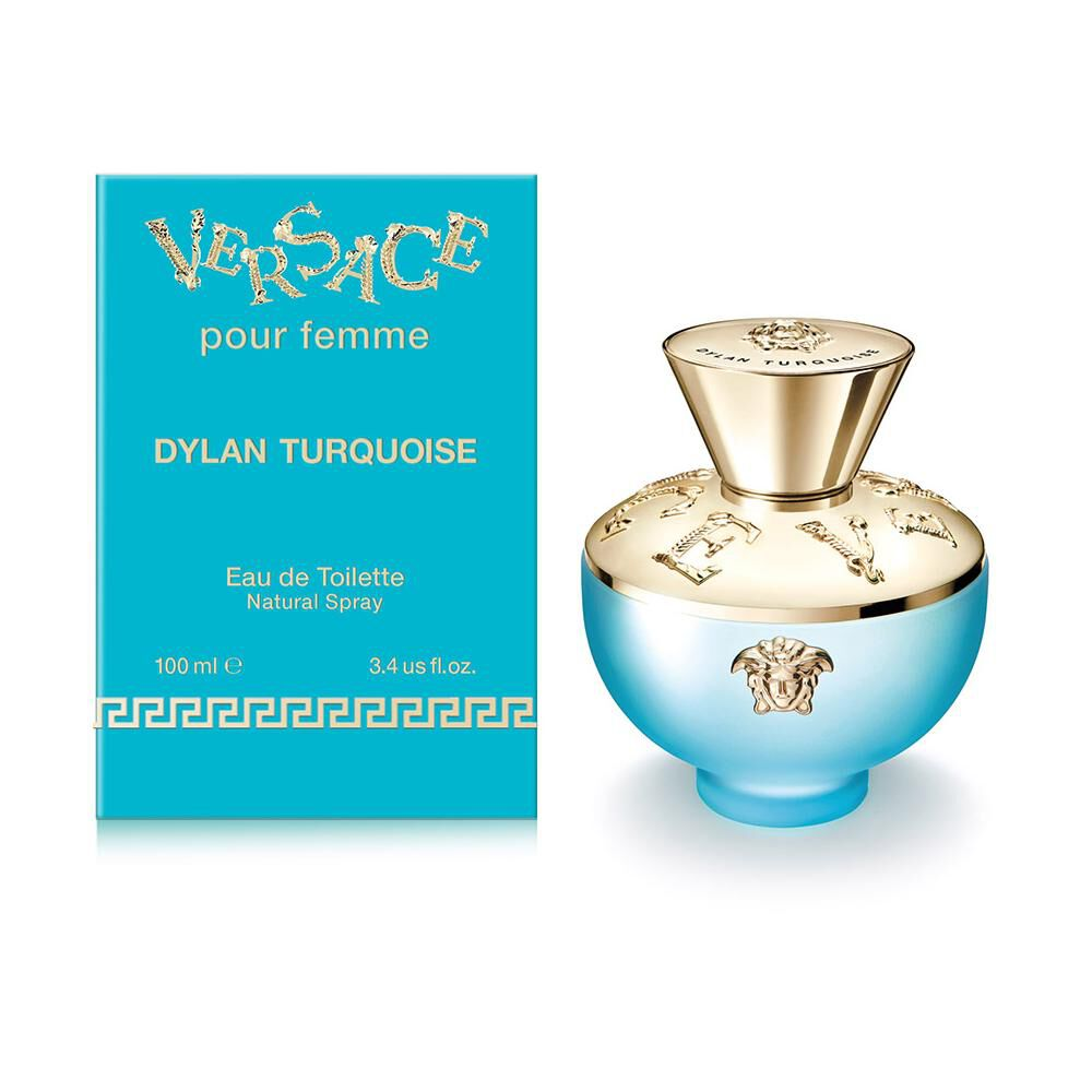 Perfume Dylan Turquoise Versace / 100 Ml / Edt image number 1.0