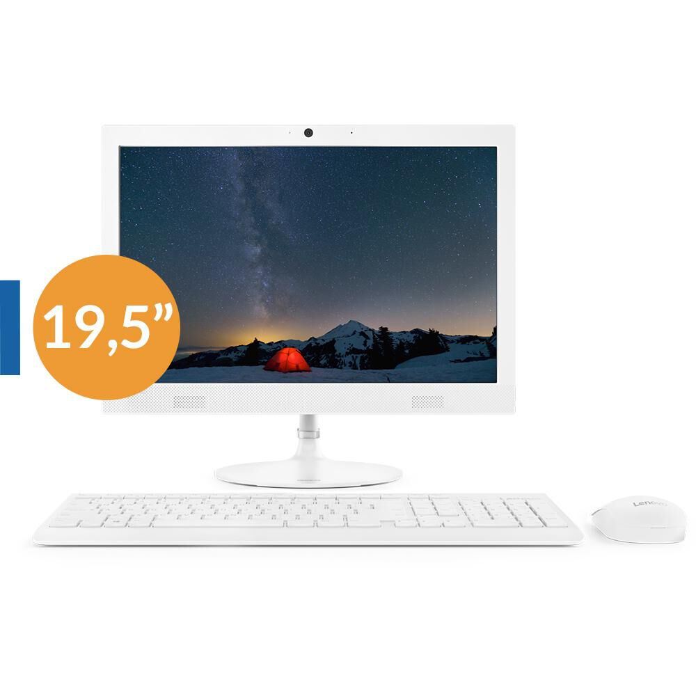 """All In One Lenovo Ideacentre Aio 330 / Intel Celeron / 4 Gb Ram / Intel Uhd Graphics 600 / 500 Gb Hdd / 19.5"""" image number 0.0"""
