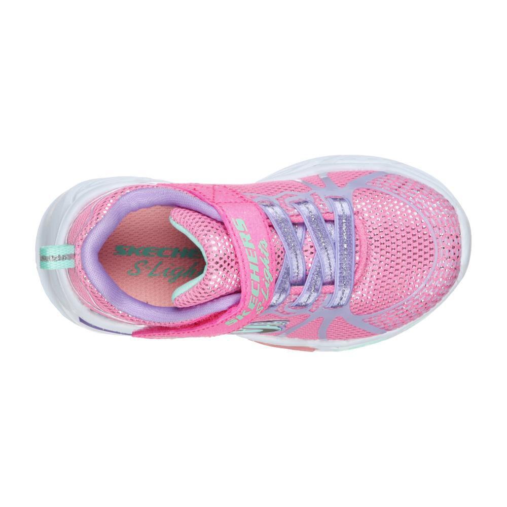 Zapatilla Niña Skechers Shimmer Beams - Sporty Glow image number 4.0