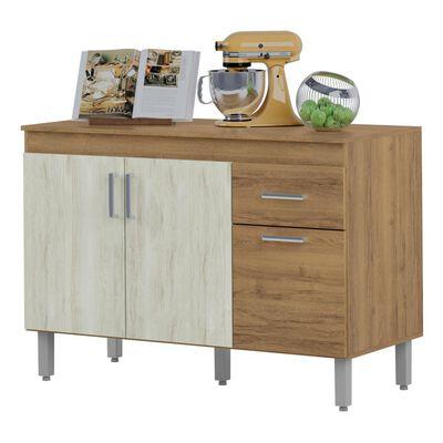 Mueble De Cocina Home Mobili Kalahari/montana / 3 Puertas / 1 Cajón