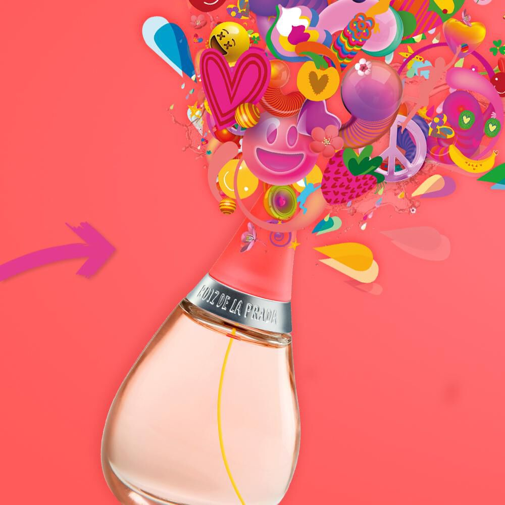 Perfume Gotas De Color Agatha Ruiz / 50 Ml / Edt + Barniz De Uñas image number 7.0