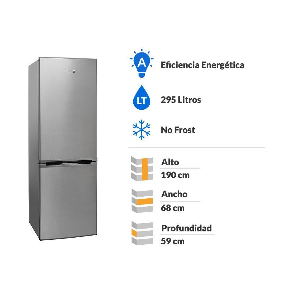Refrigerador Bottom Freezer Sindelen RDNF-2950IN / No Frost / 295 Litros image number 1.0