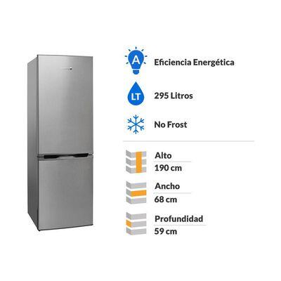 Refrigerador Bottom Freezer Sindelen RDNF-2950IN / No Frost / 295 Litros