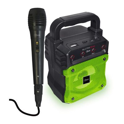 Parlante Para Karaoke Microlab My Lil First Green
