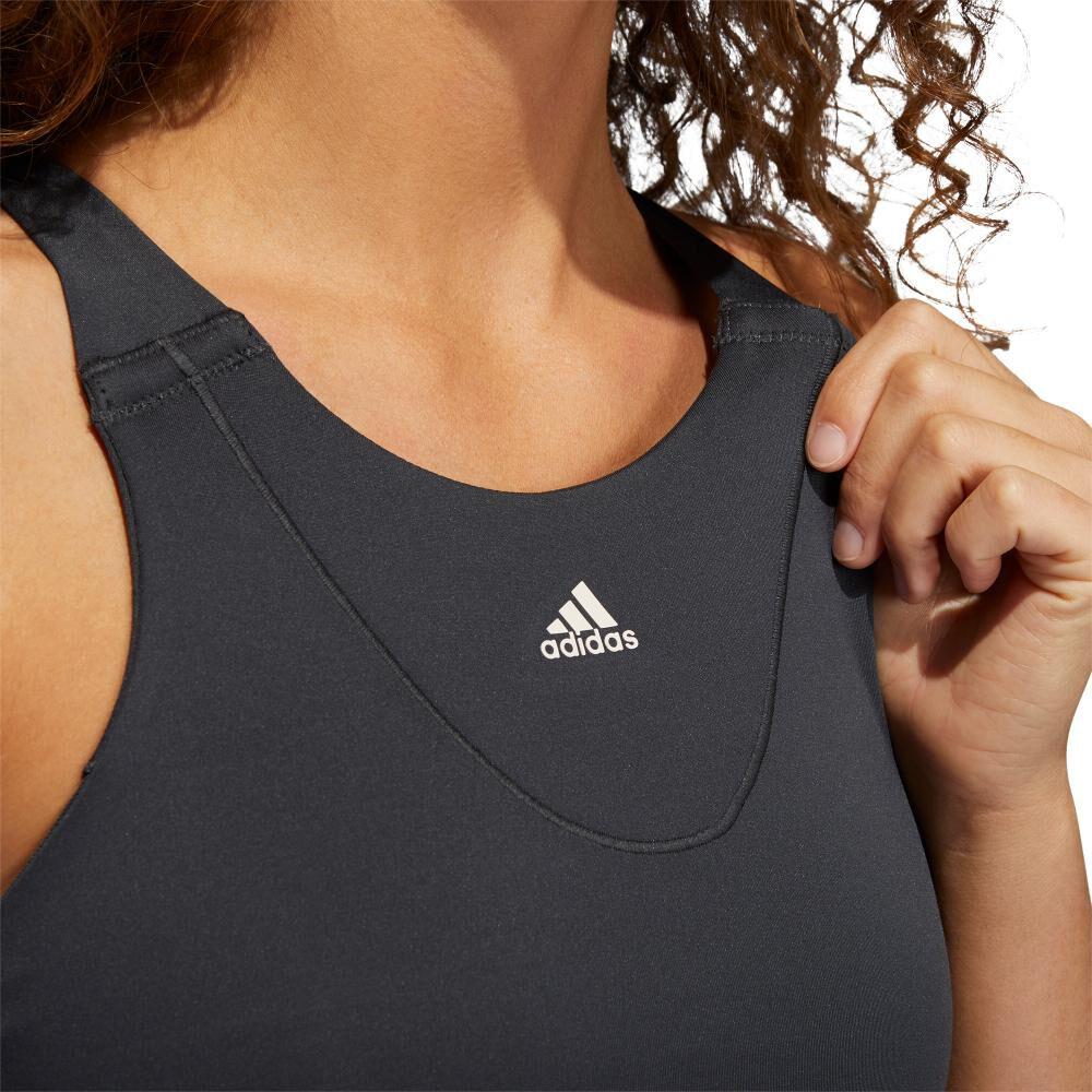 Peto Deportivo Mujer Adidas Medium Suport Yoga Bra image number 4.0