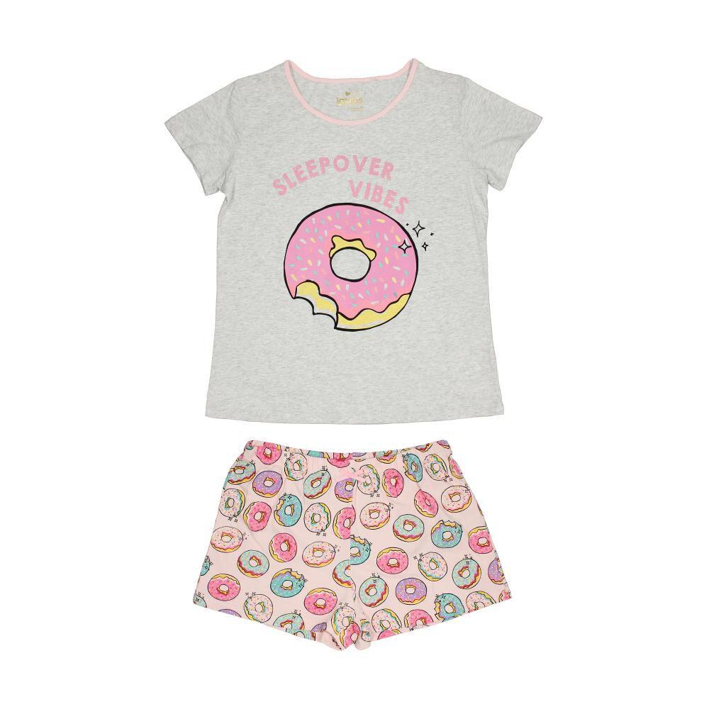 Pijama Topsis / 2 Piezas image number 0.0