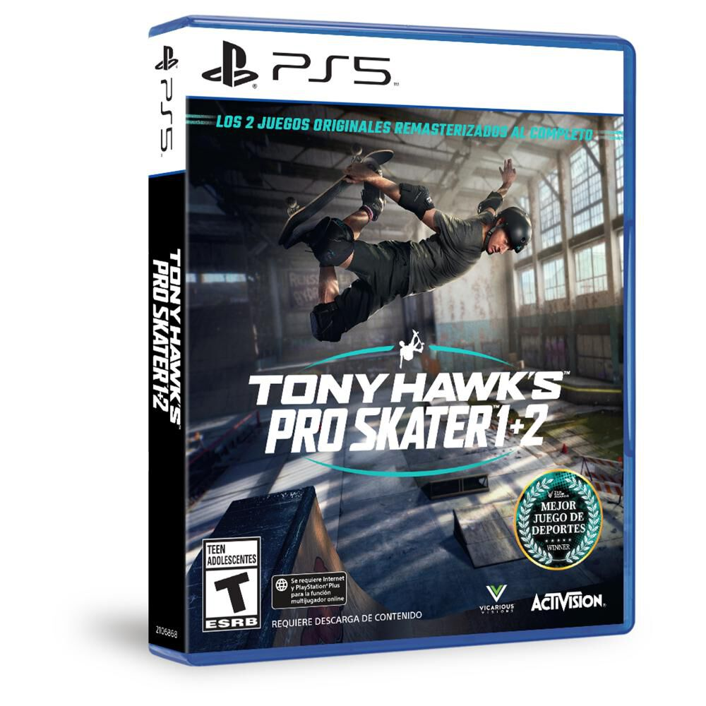 Juego Ps5 Sony Pro Skater 1+2 Ps5 image number 1.0