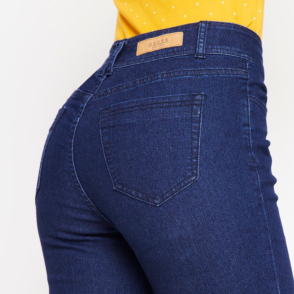 Jeans Tiro Alto Regular Mujer Geeps image number 4.0
