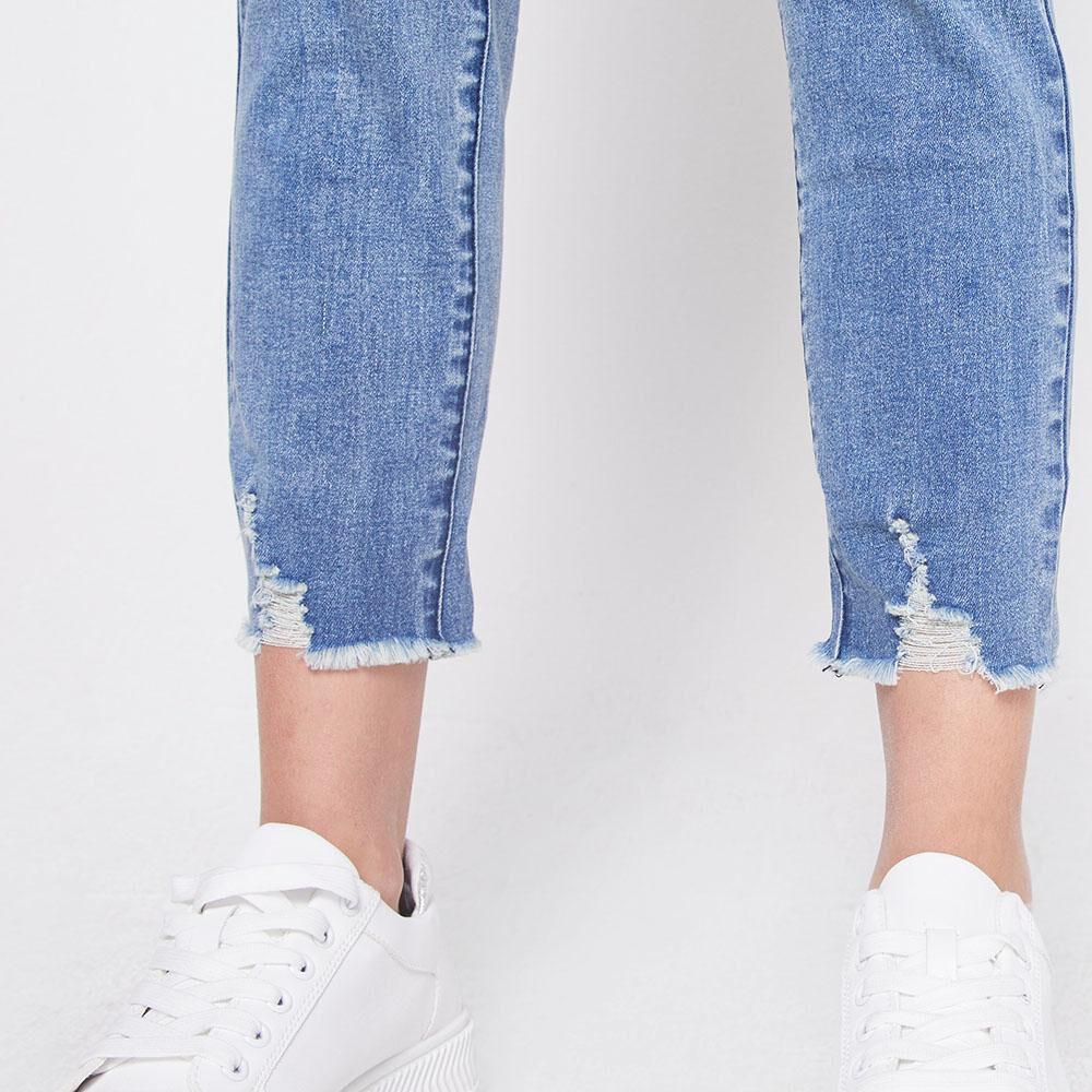 Jeans Tiro Alto Skinny Mujer Freedom image number 5.0