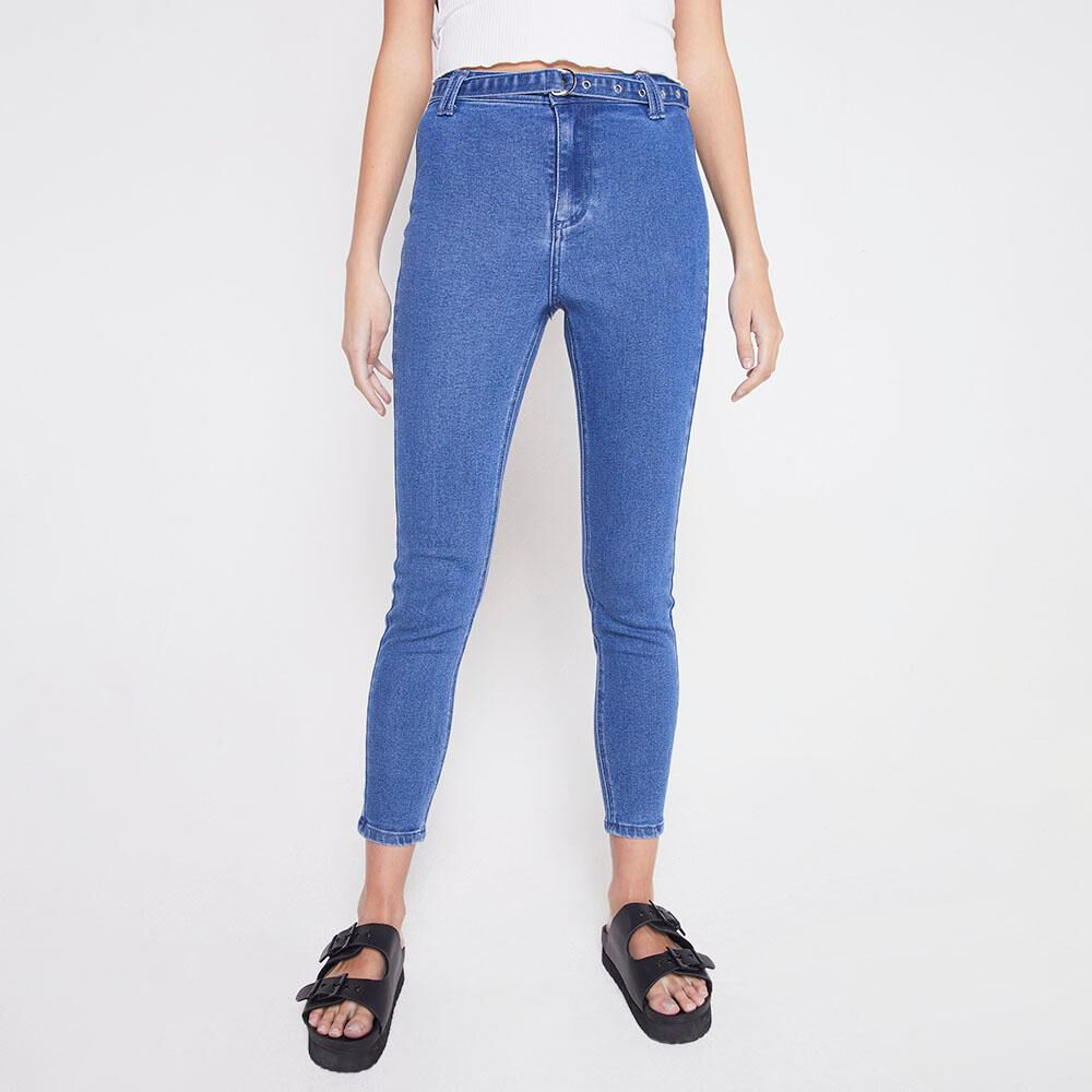 Jeans Tiro Alto Mujer Freedom image number 0.0