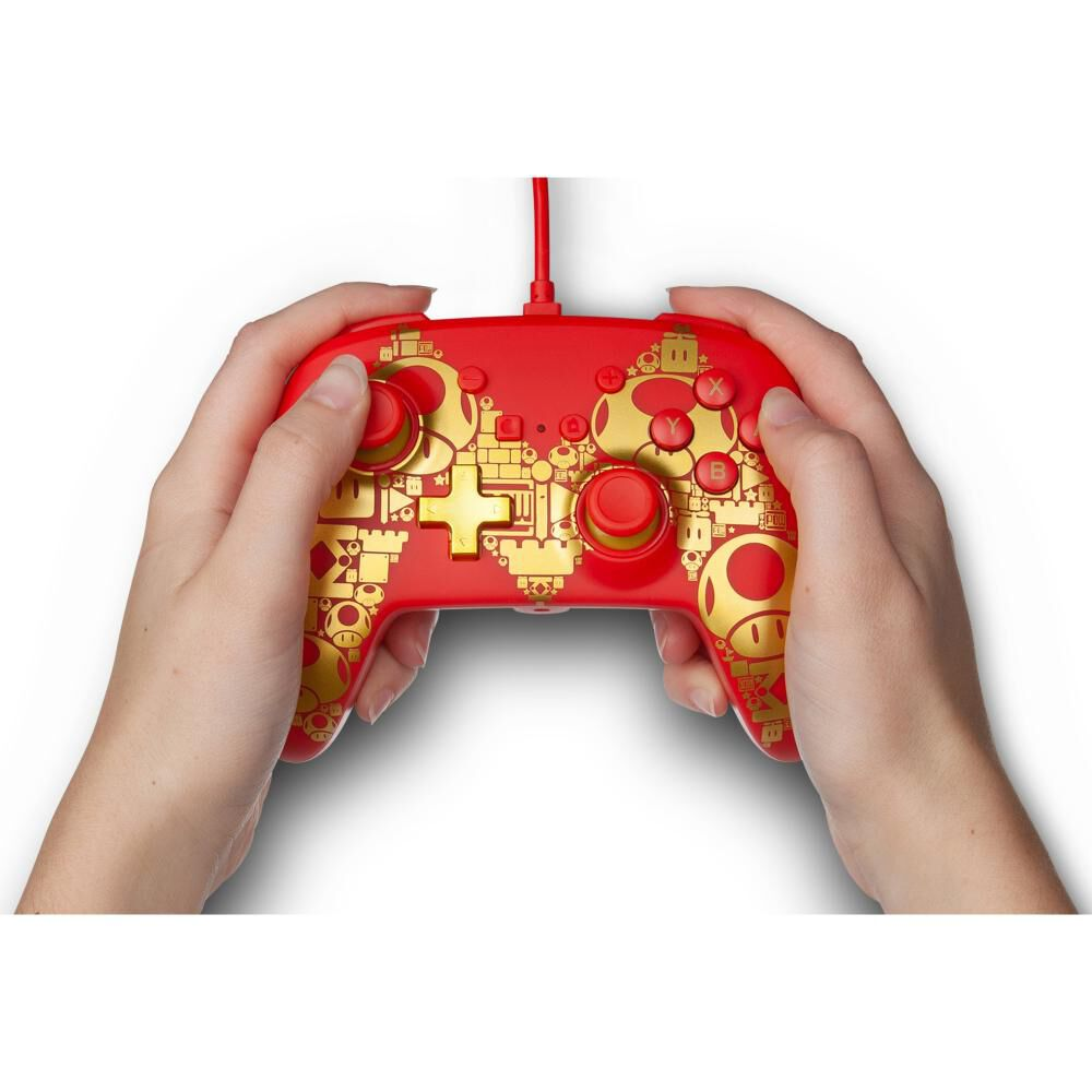 Control Nintendo Switch Nintendo Mario Gold M image number 5.0