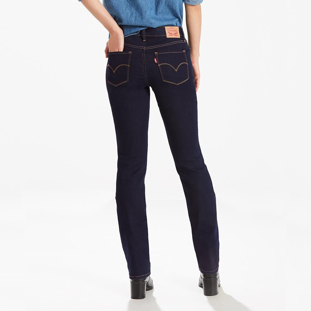 Jeans Mujer Straight Fit Levi's 314 image number 2.0