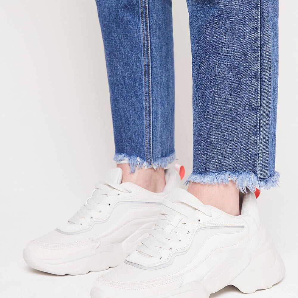 Jeans Mujer Tiro Alto Mom Freedom image number 5.0