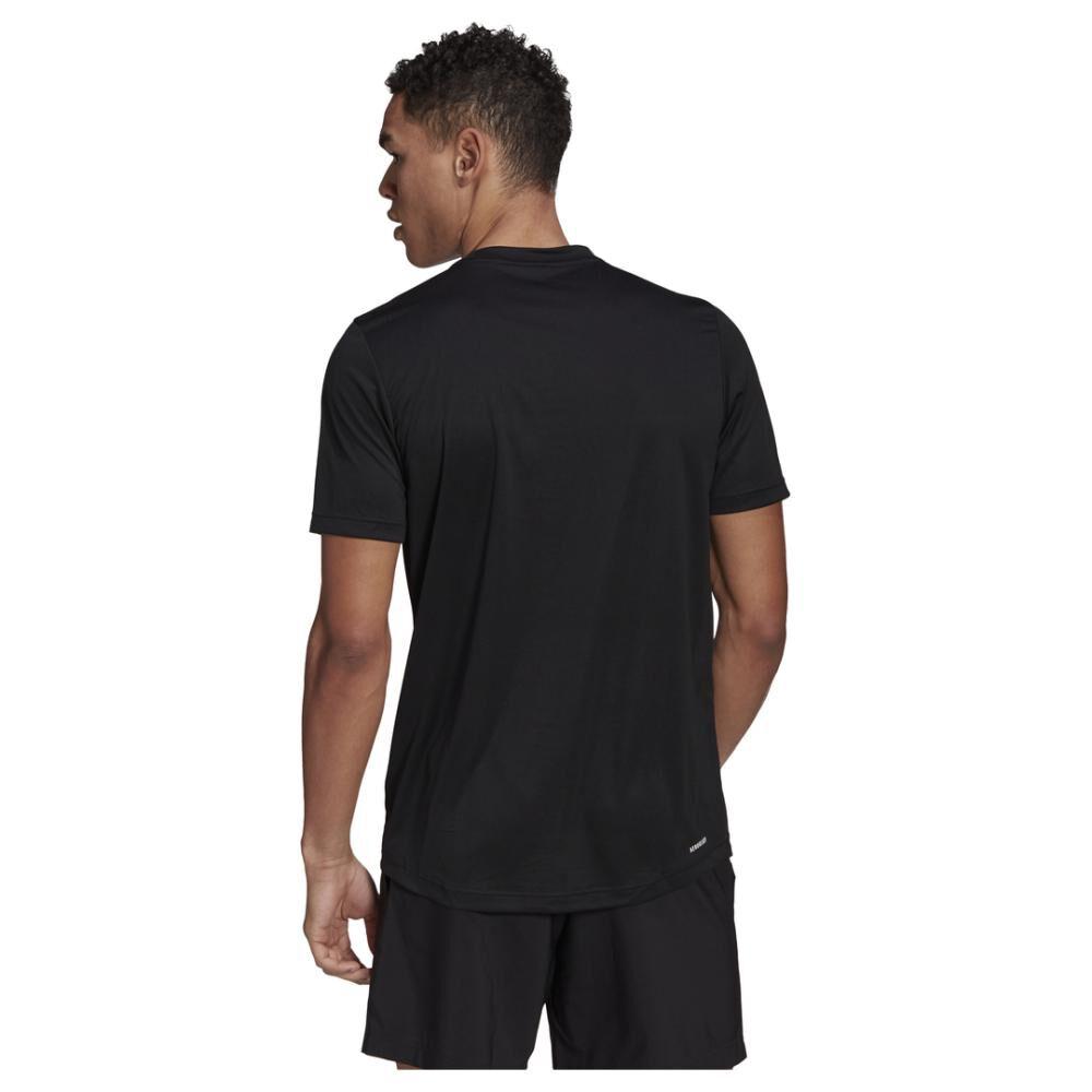 Polera Hombre Adidas Aeroready Designed To Move Sport image number 2.0