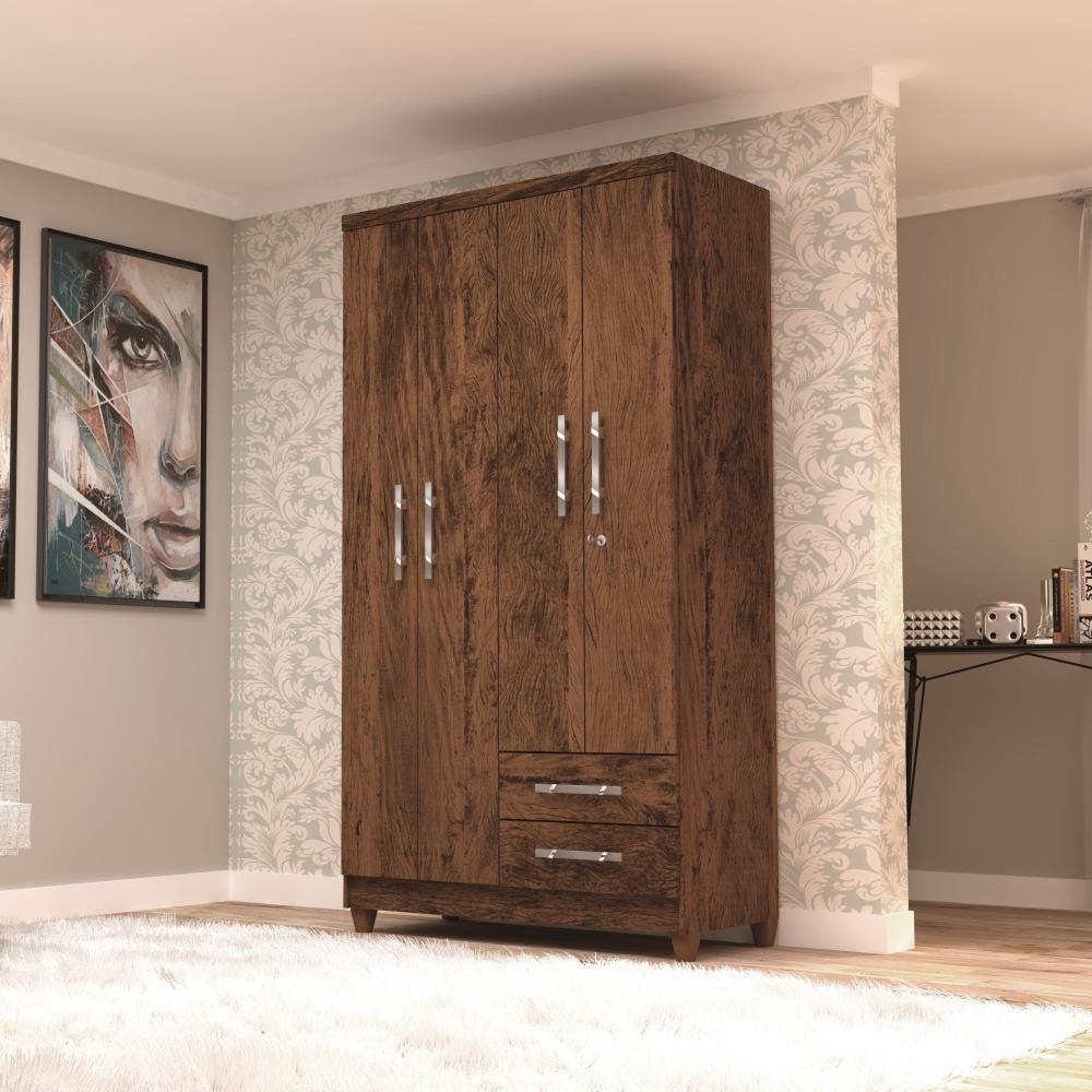Closet Jdo&Desing Imbua / 4 Puertas / 2 Cajones image number 1.0