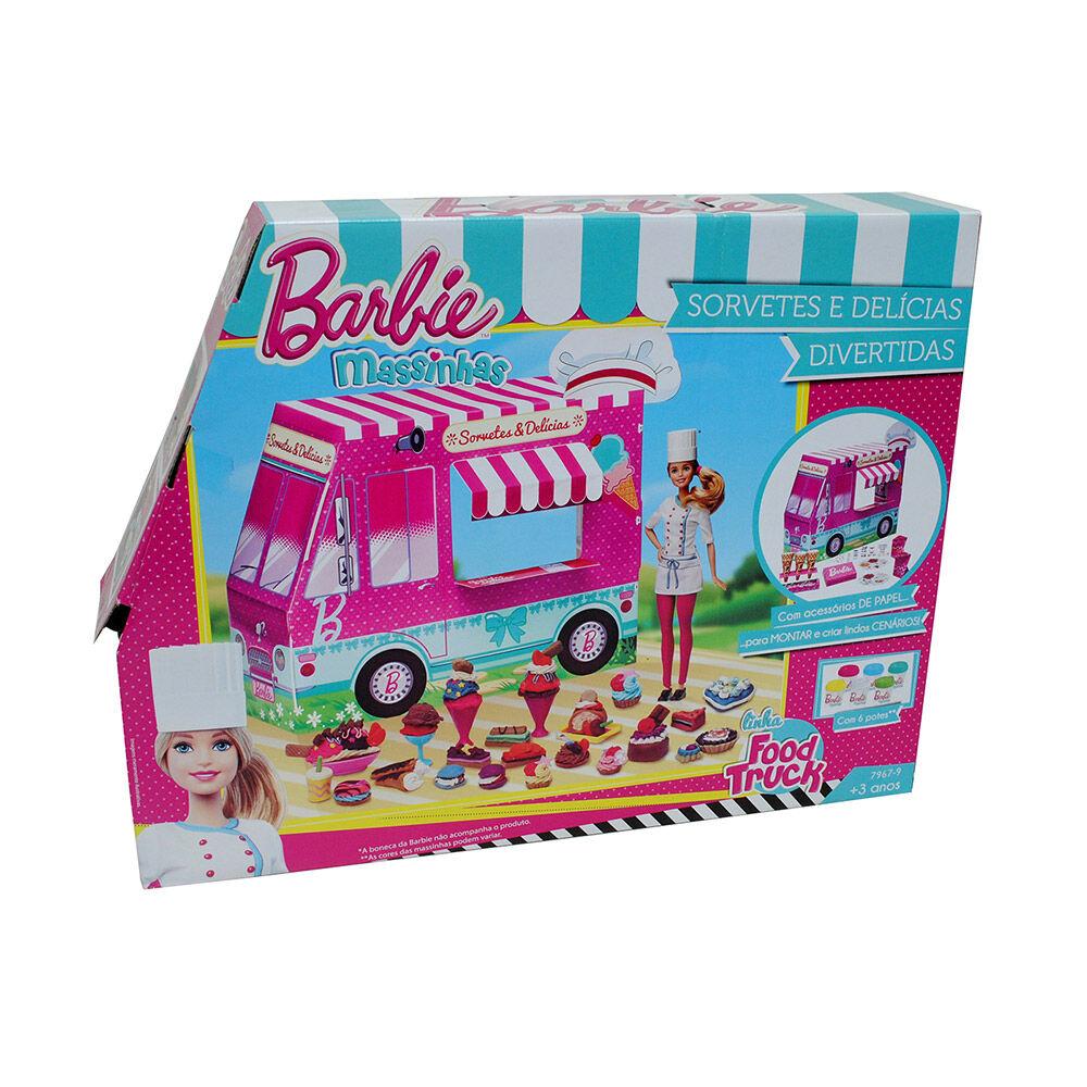 Set De Masas Barbie Camión De Helados image number 2.0