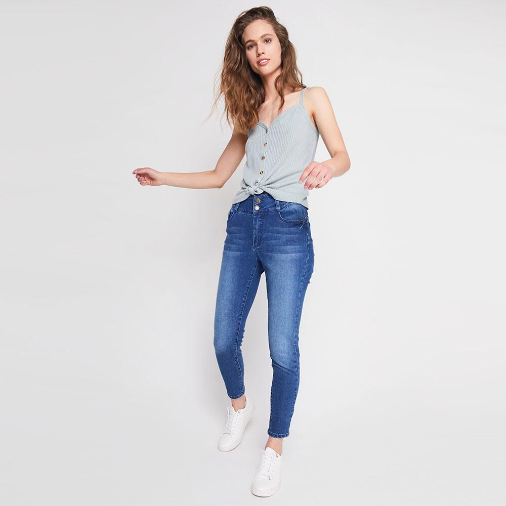 Jeans Mujer Push Up Freedom image number 1.0