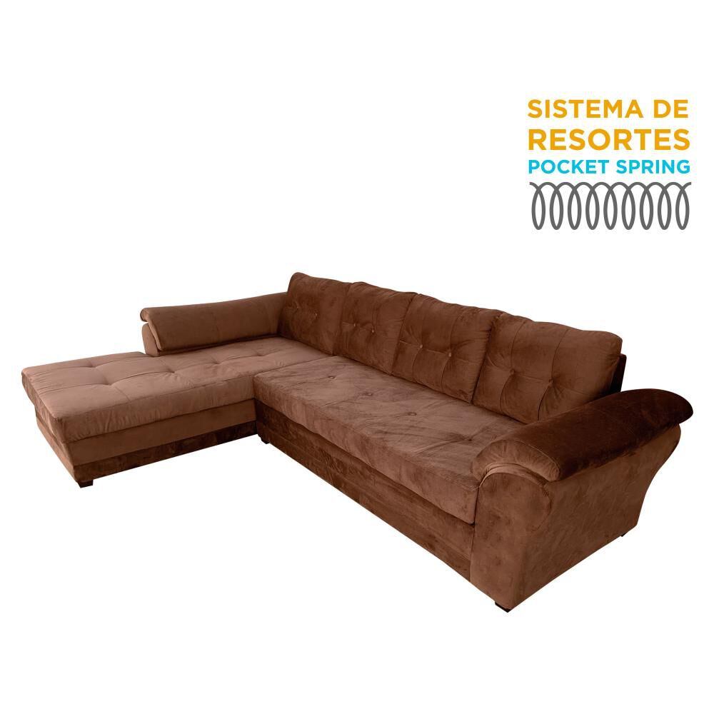 Sofá Seccional Living Factory New Samy / 5 Cuerpos image number 0.0
