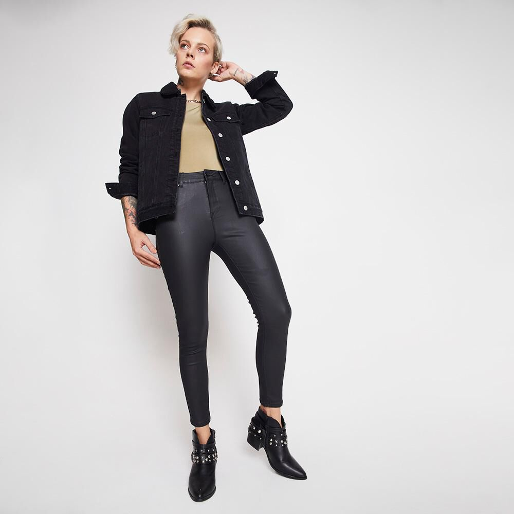 Jeans Mujer Tiro Alto PU Rolly Go image number 1.0