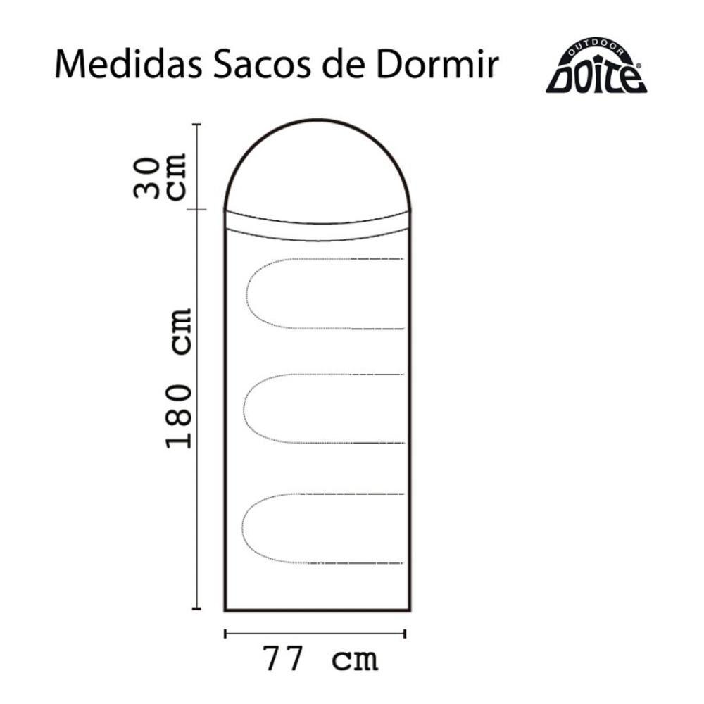 Saco De Dormir Doite Tempo Plus image number 1.0