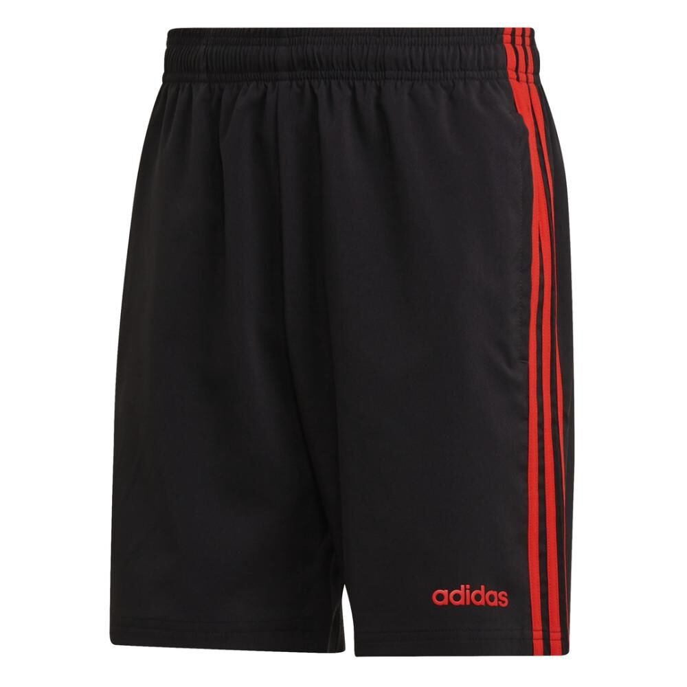 Short Deportivo Hombre Adidas Essentials 3 Stripes 7in Chelsea image number 7.0