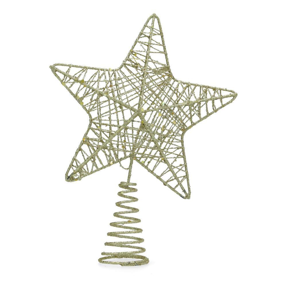 Adorno Navidad Casaideal Estrella Árbol image number 0.0