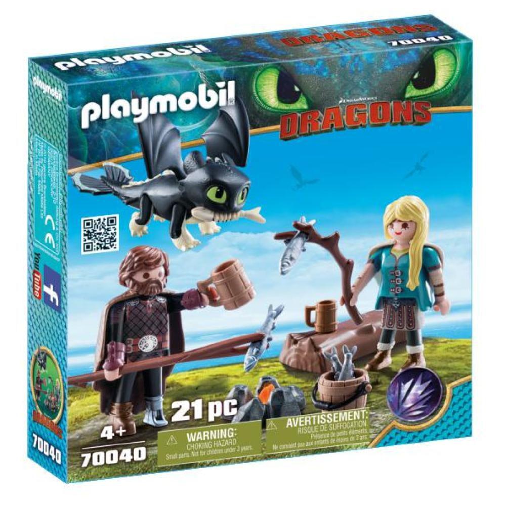 Figura De Acción Playmobil Set De Juego Hipo Y Astrid image number 0.0