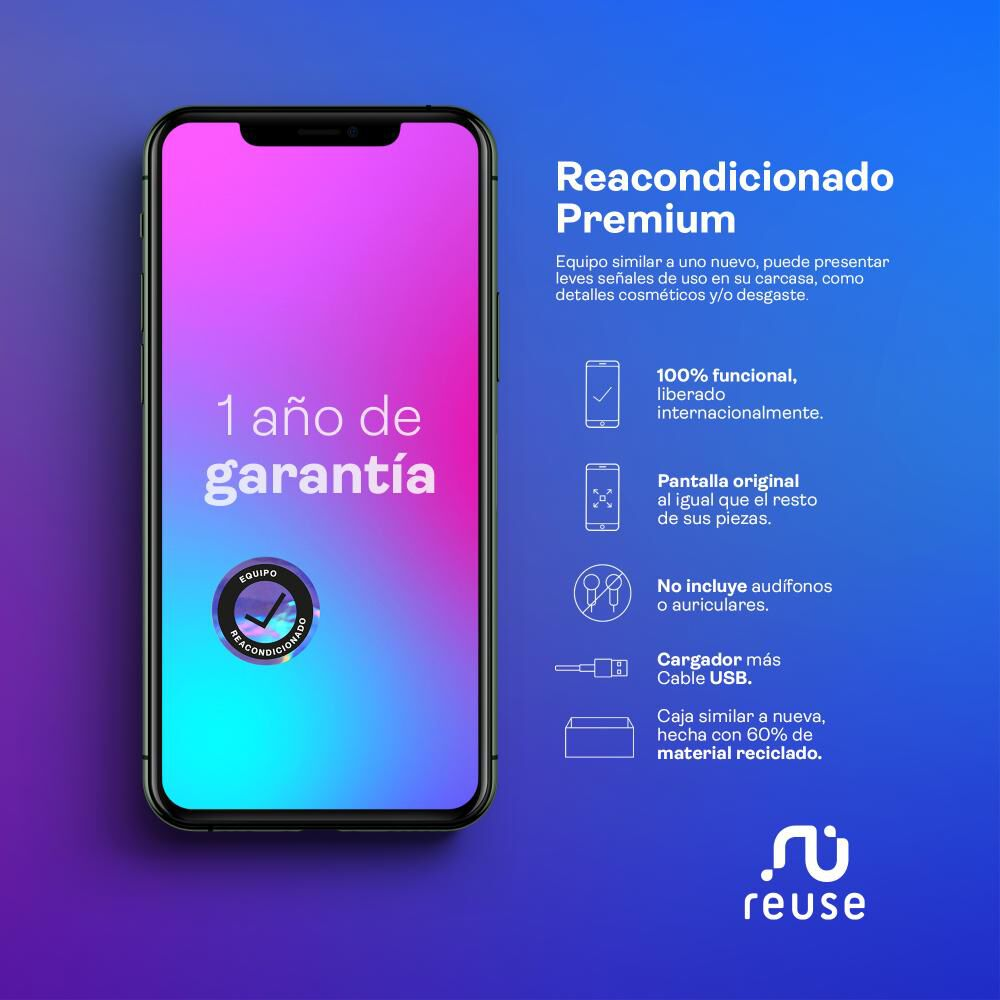 Smartphone Apple Iphone 11 Reacondicionado Rojo / 256 Gb / Liberado image number 1.0