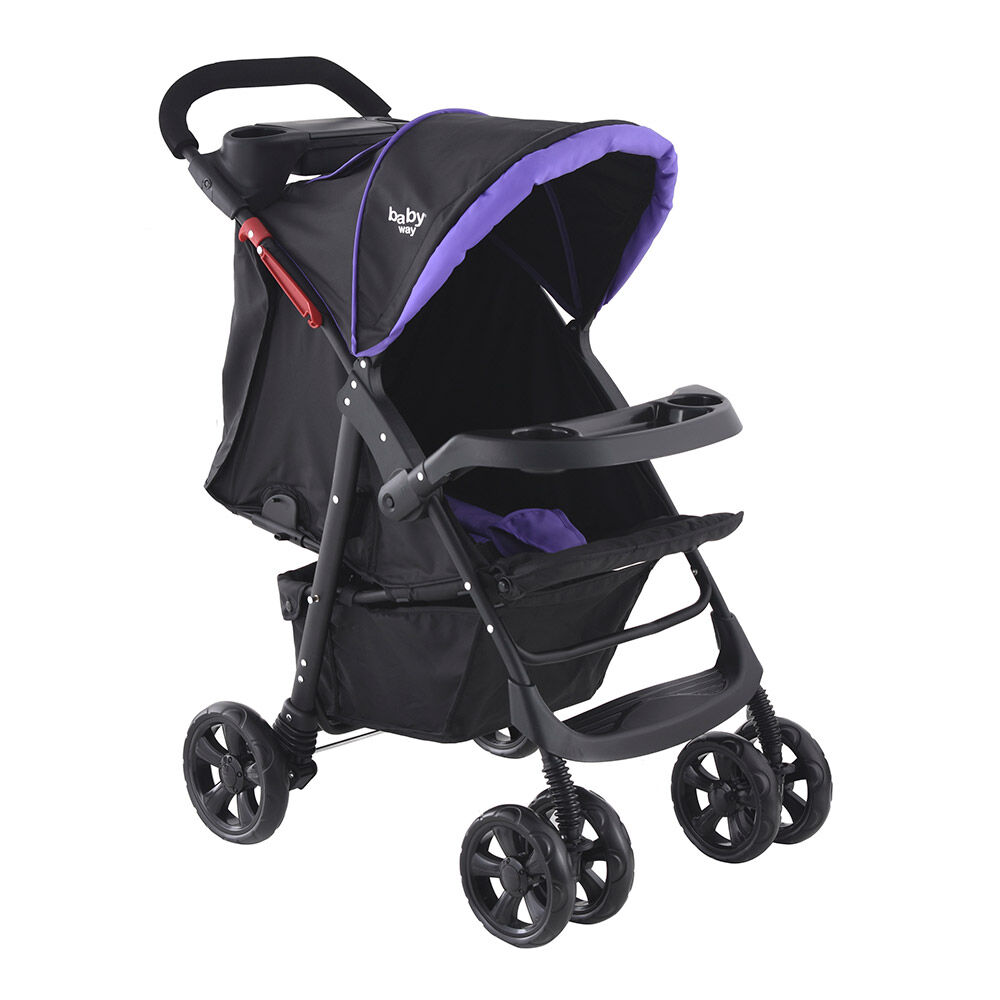 Coche Travel System Baby Way Bw-413M18 image number 1.0