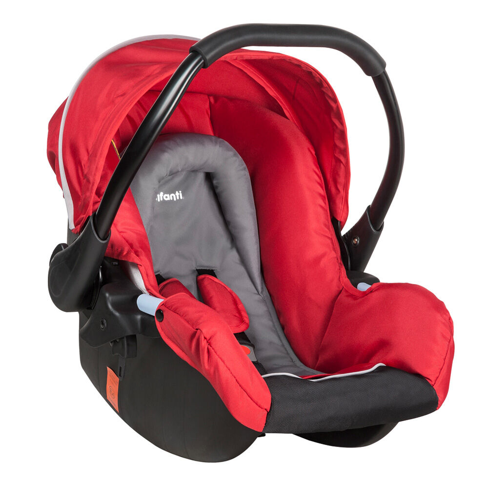 Coche Travel System Andes Mist Red Infanti image number 2.0