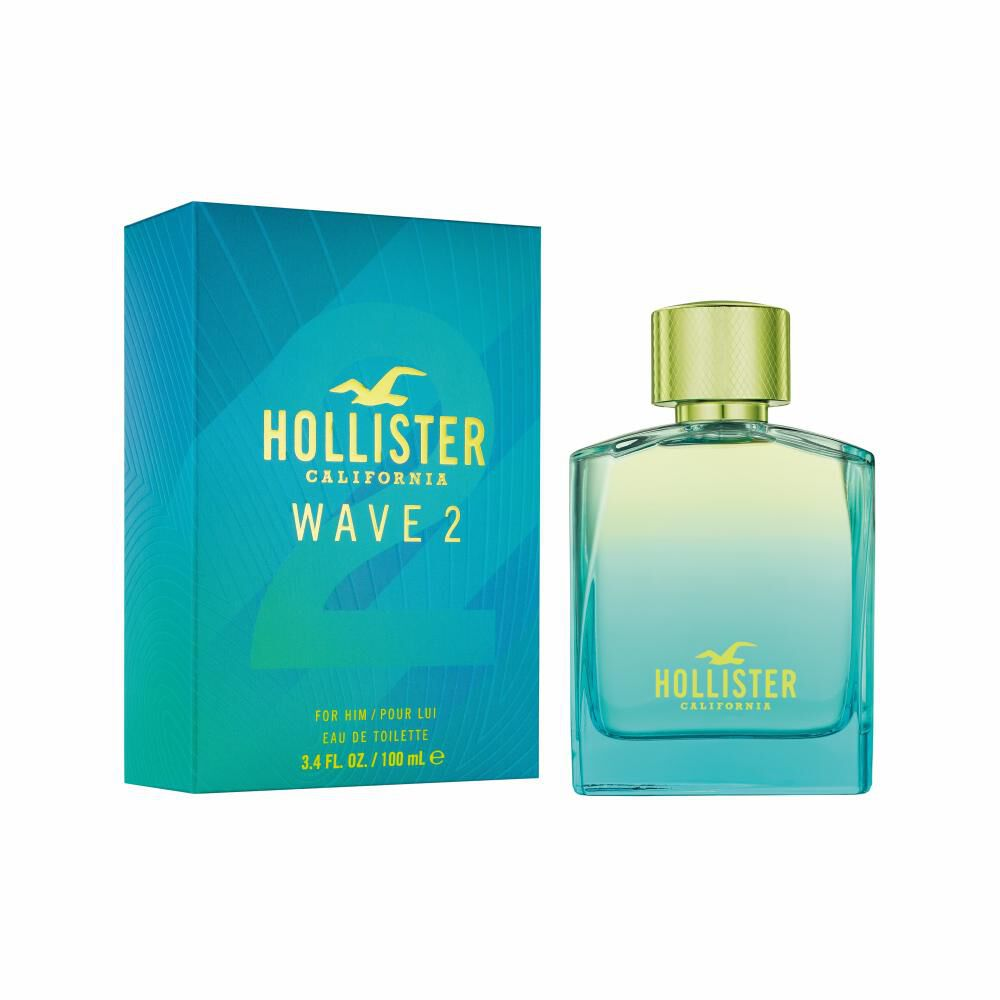Perfume Wave 2 For Him Hollister / 100 Ml / Edt image number 0.0