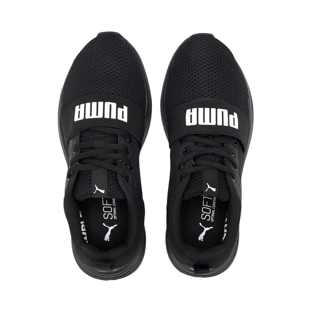 Zapatilla Juvenil Unisex Puma Wired Run Jr image number 3.0