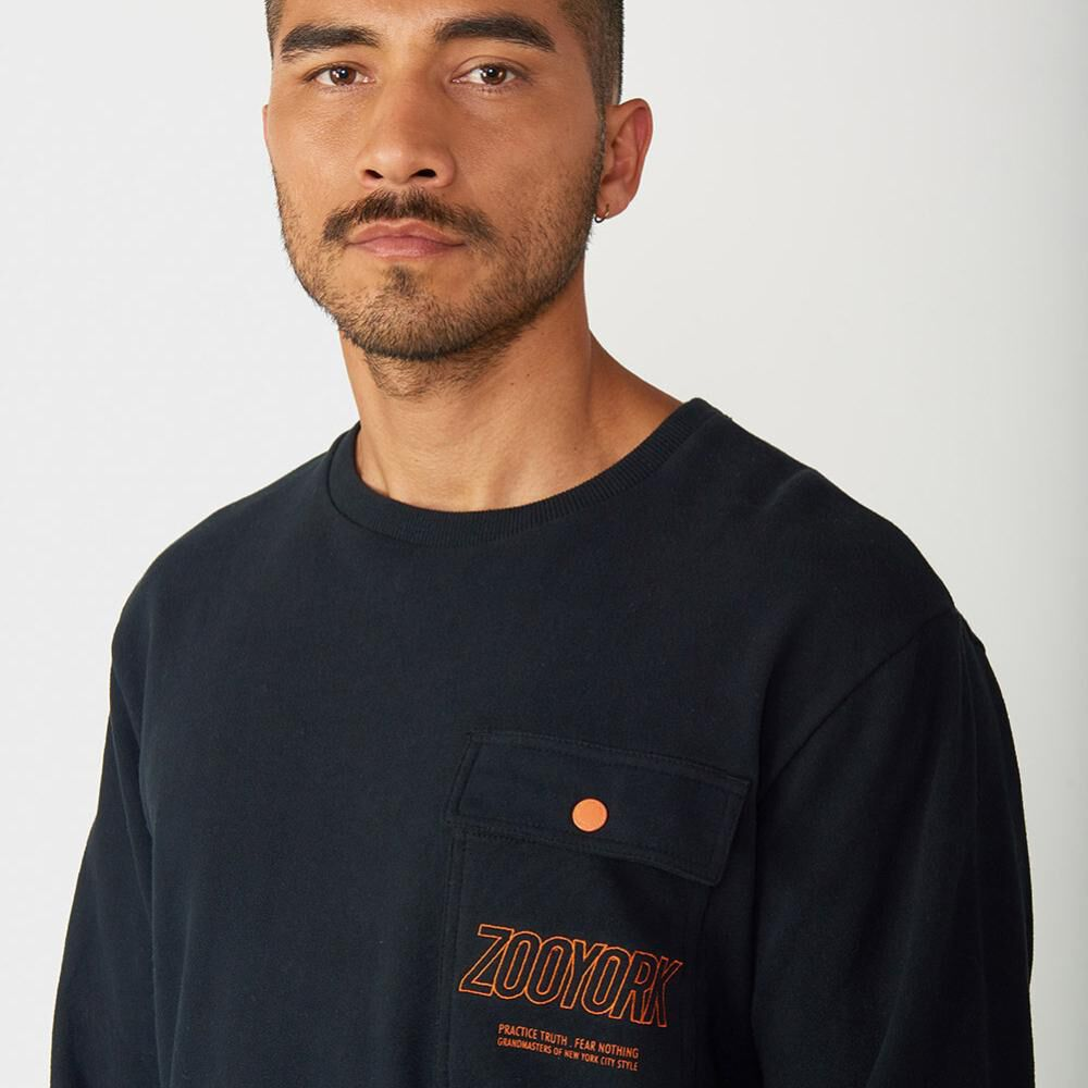 Polerón Hombre Zoo York Crew Neck Charged image number 2.0