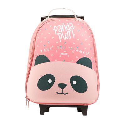 Mochila Con Ruedas Infanti Panda