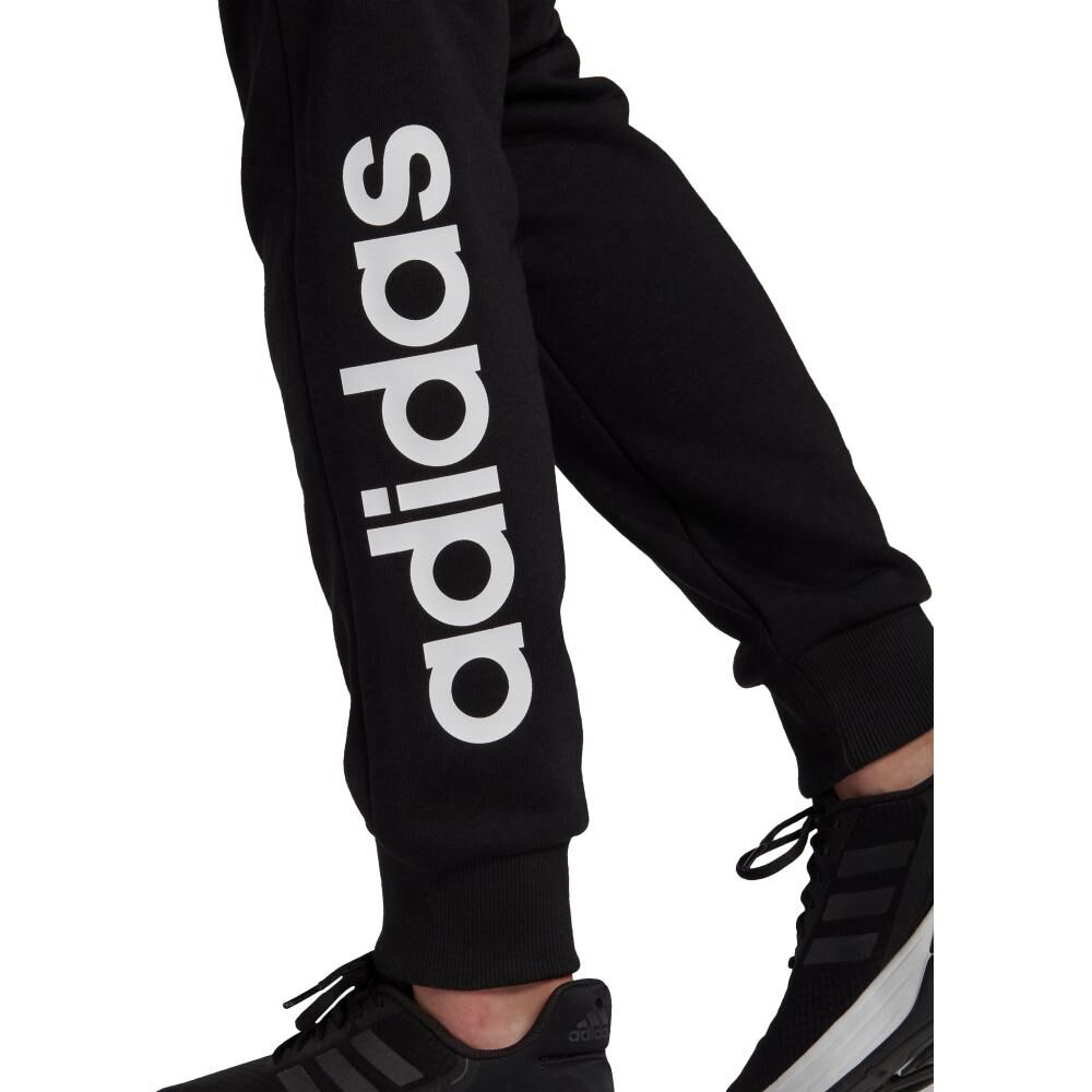 Pantalón De Buzo Mujer Adidas Essentials French Terry Logo image number 4.0