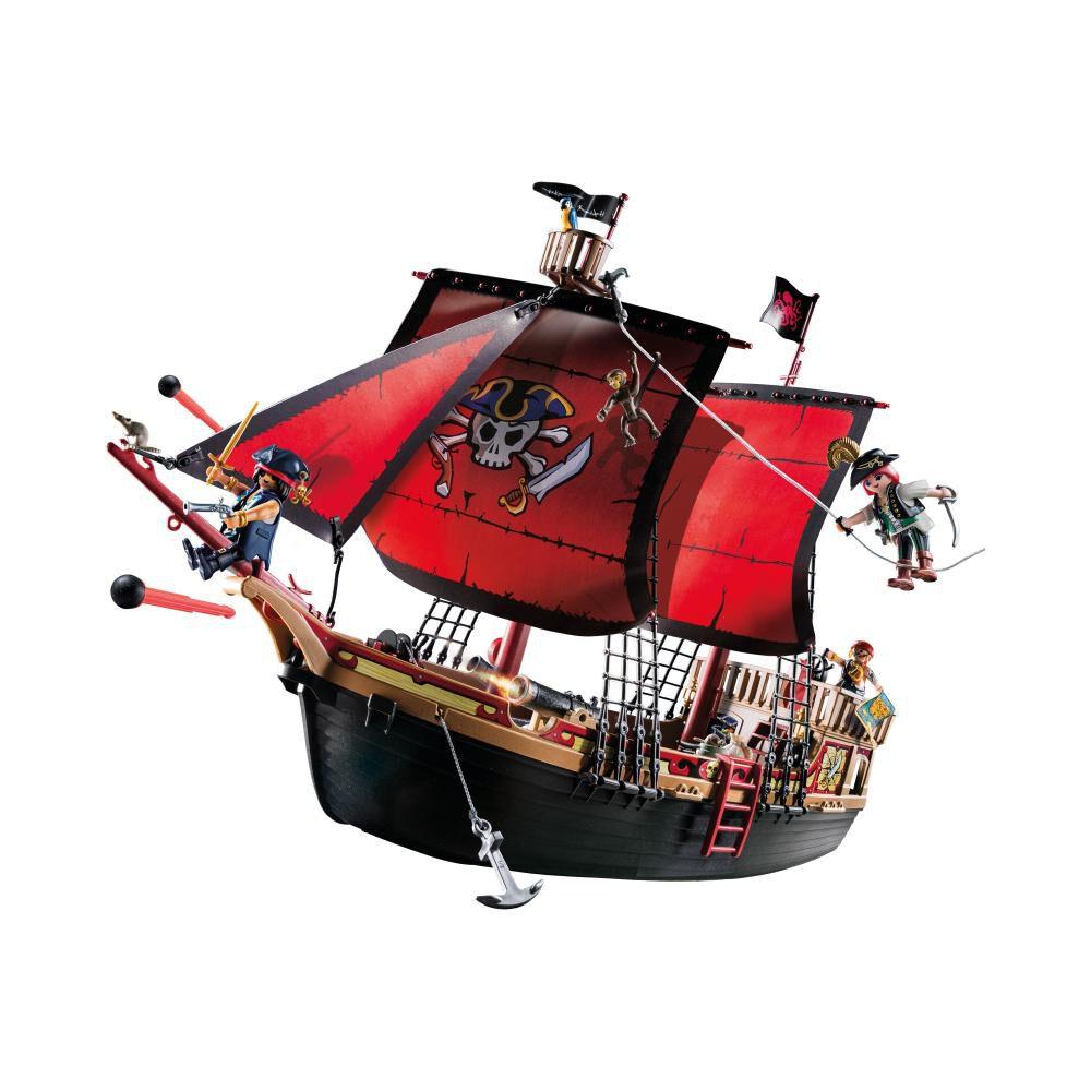 Figura De Acción Playmobil Barco Pirata Calavera image number 0.0