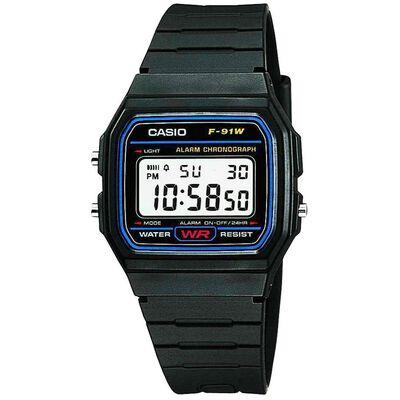 Reloj Hombre Casio F-91w-1dg