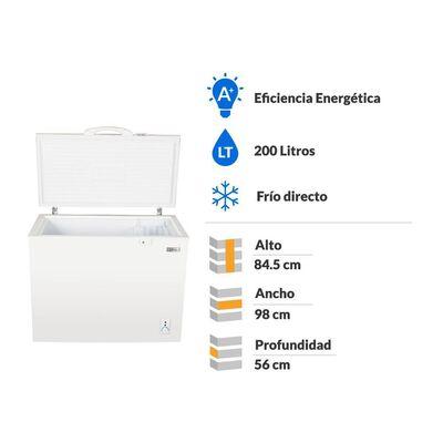 Freezer Libero Lfh-200 Triple Función / 200 Litros
